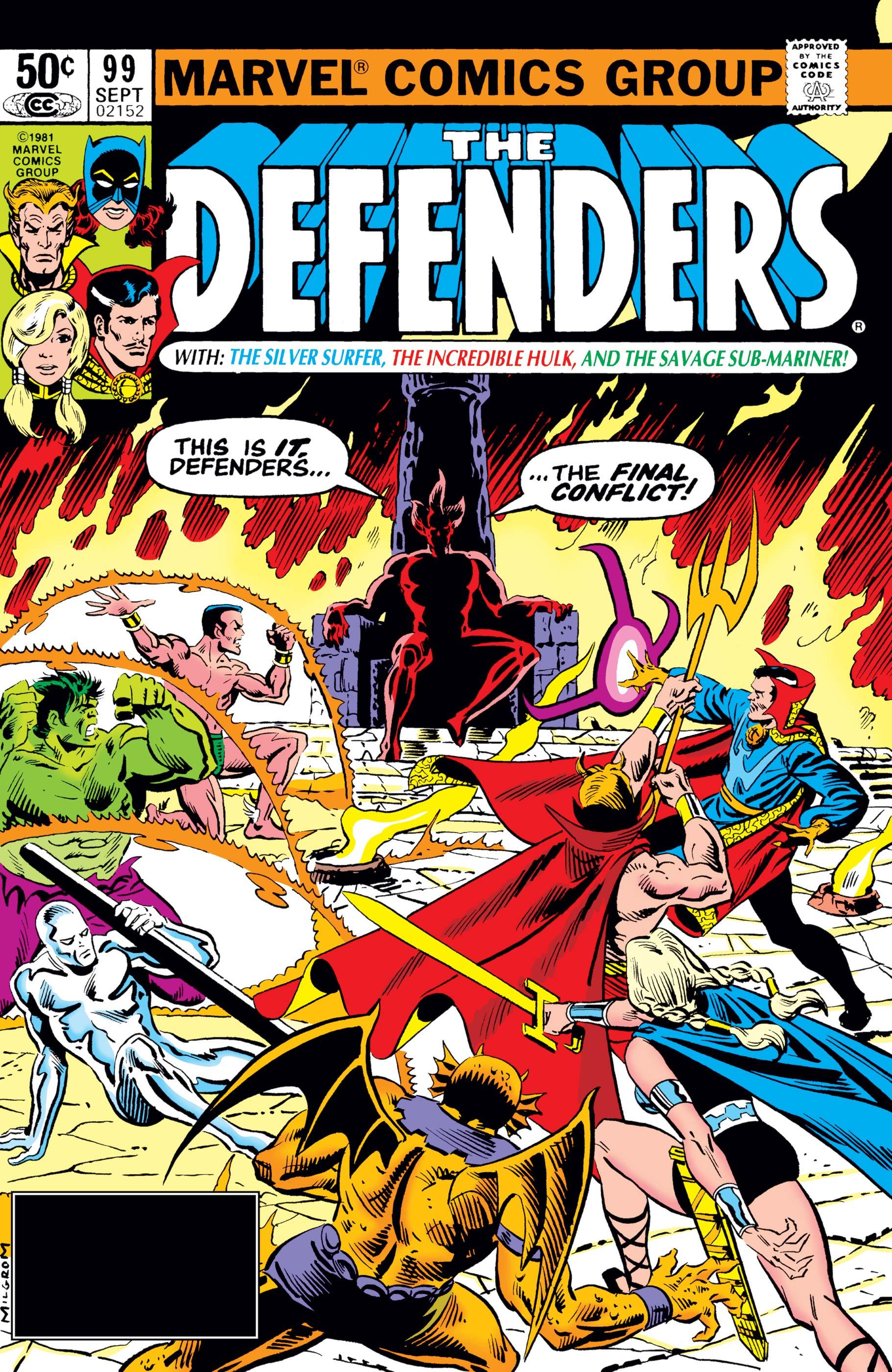 Defenders (1972) #99
