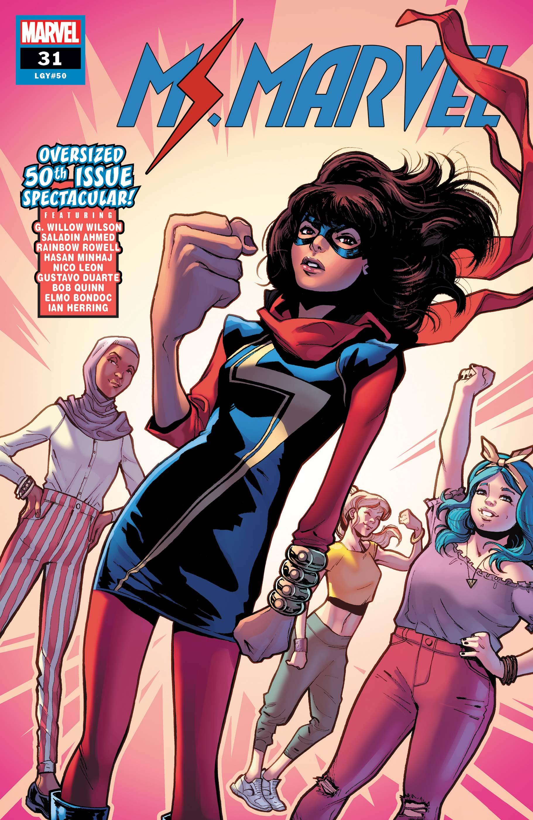 Ms. Marvel (2015) #31