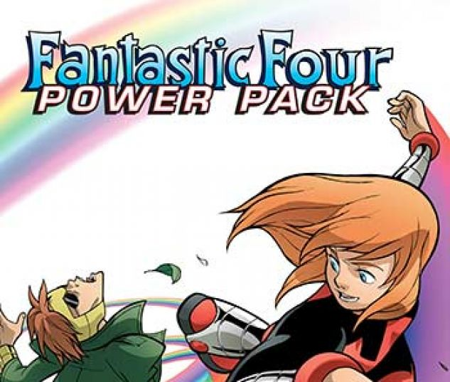 cover from Fantastic Four and Power Pack Infinite Comic (2018) #2
