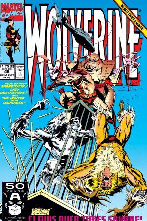 Wolverine (1988) #45