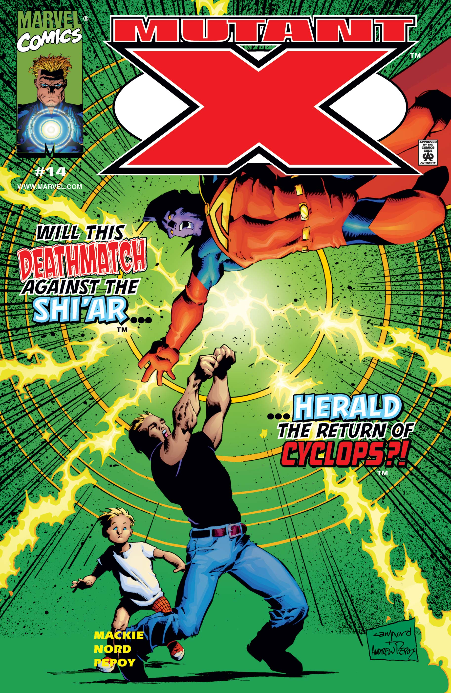 Mutant X (1998) #14