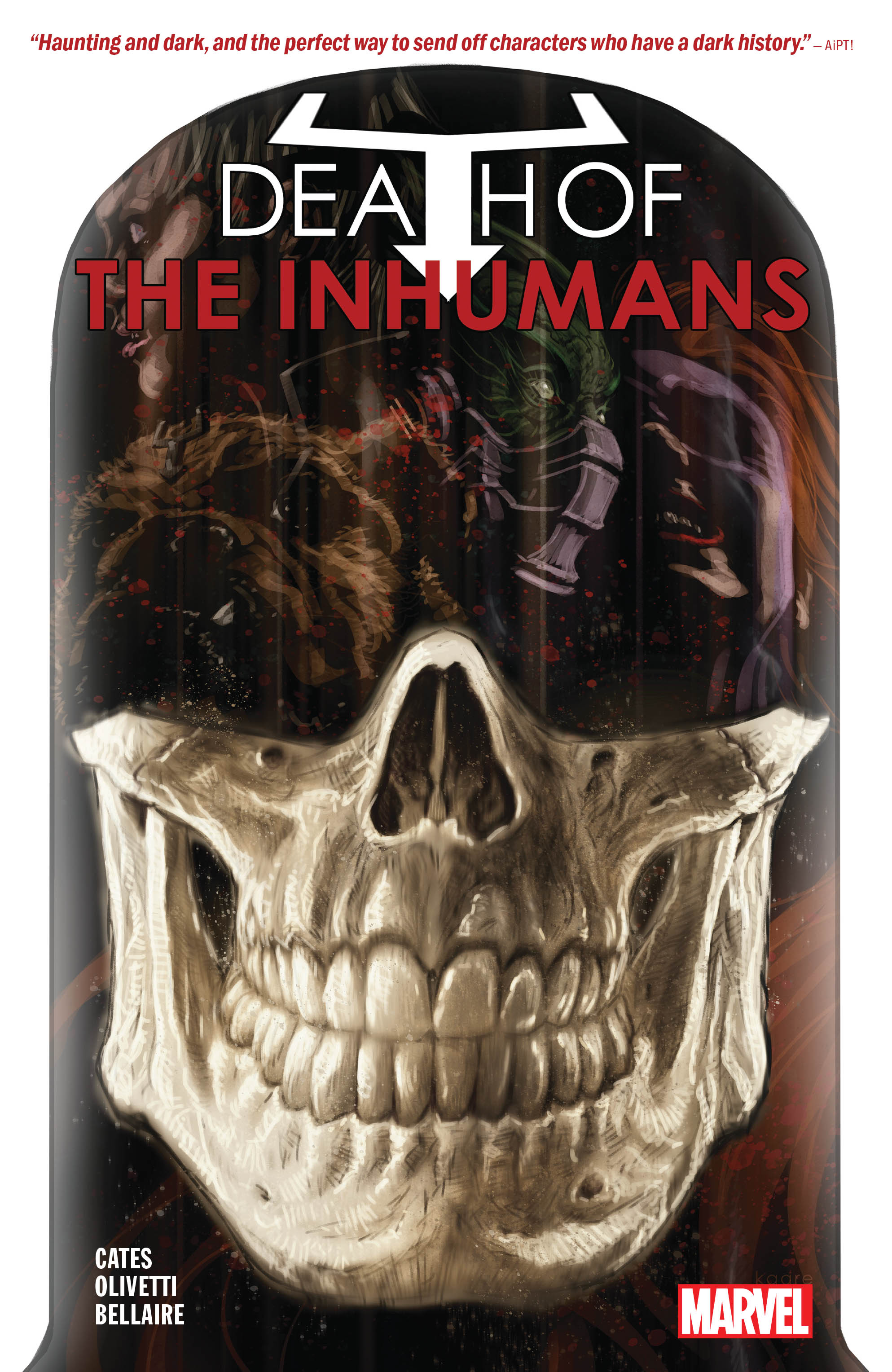 Death of the Inhumans (Trade Paperback)