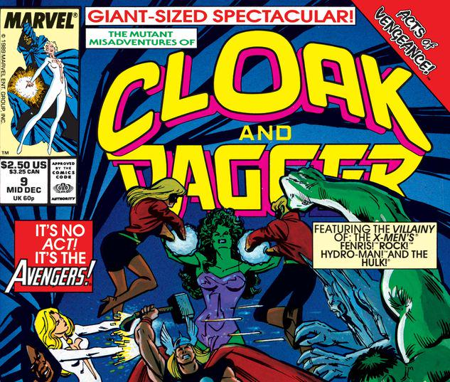 The Mutant Misadventures of Cloak and Dagger #9