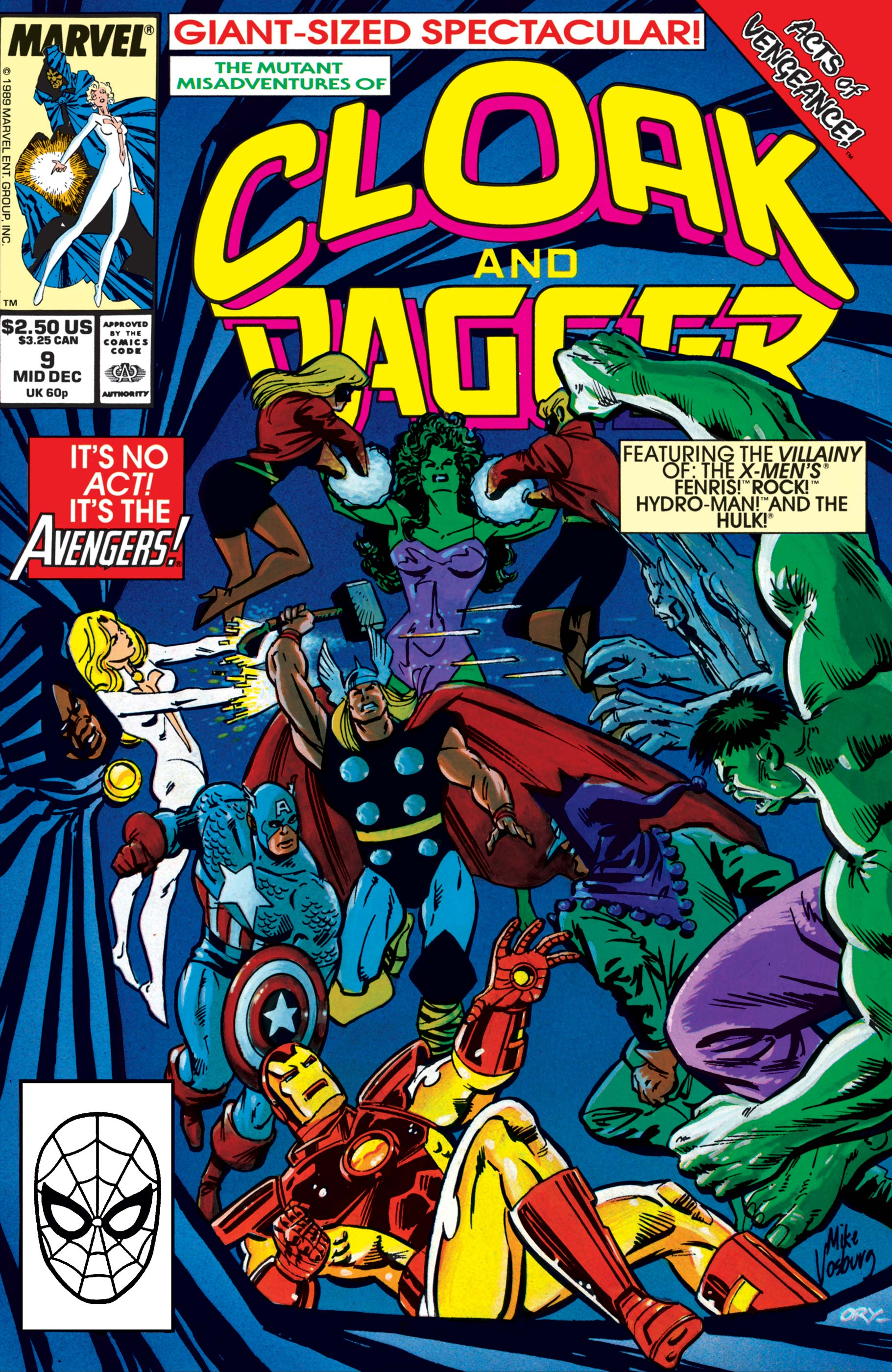 The Mutant Misadventures of Cloak and Dagger (1988) #9