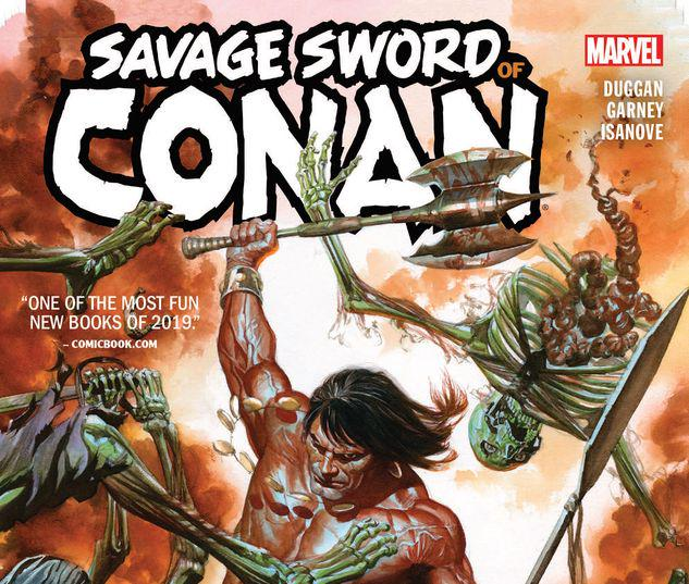 SAVAGE SWORD OF CONAN: THE CULT OF KOGA THUN TPB #1