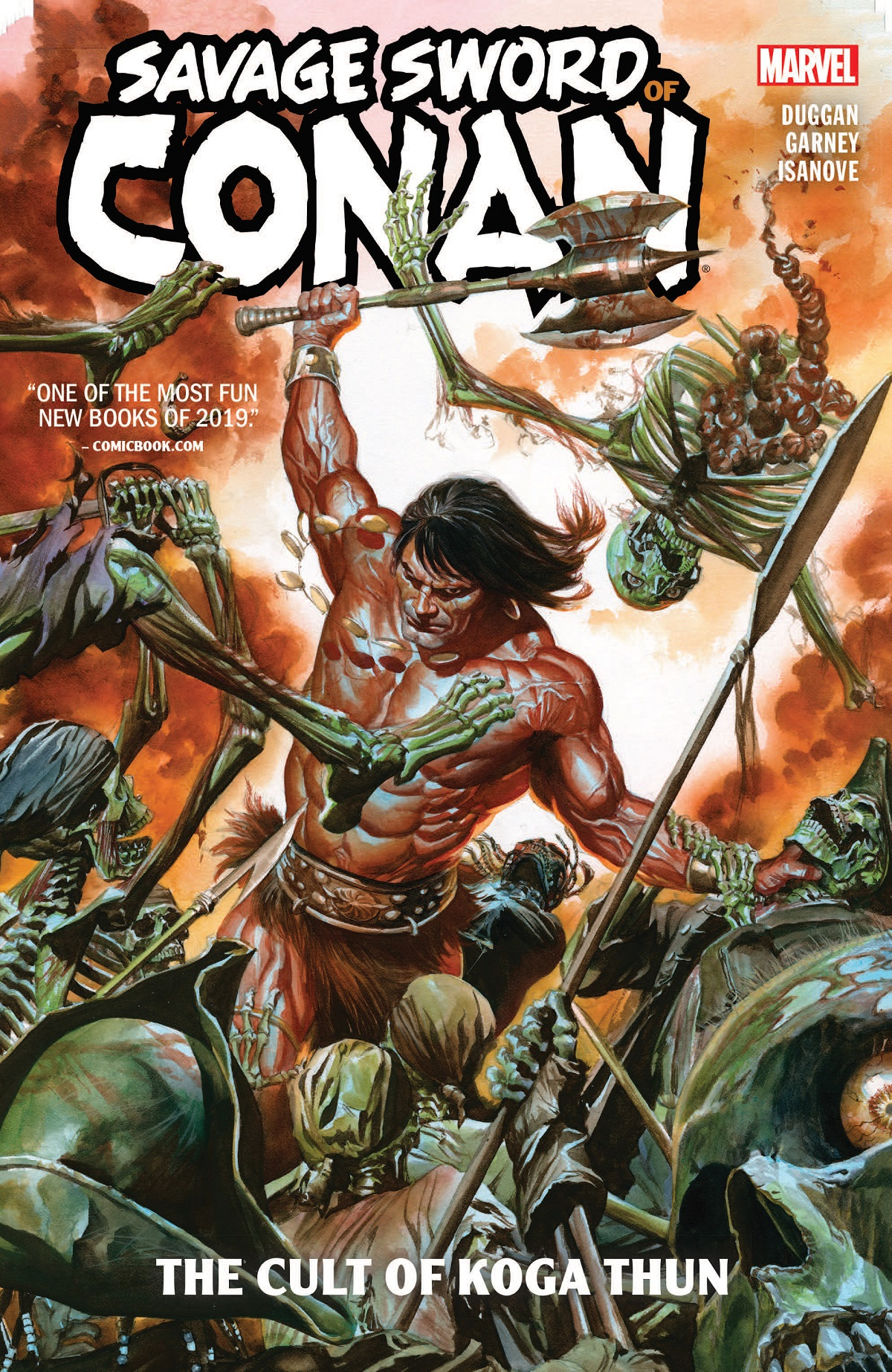 Savage Sword Of Conan: The Cult Of Koga Thun (Trade Paperback)
