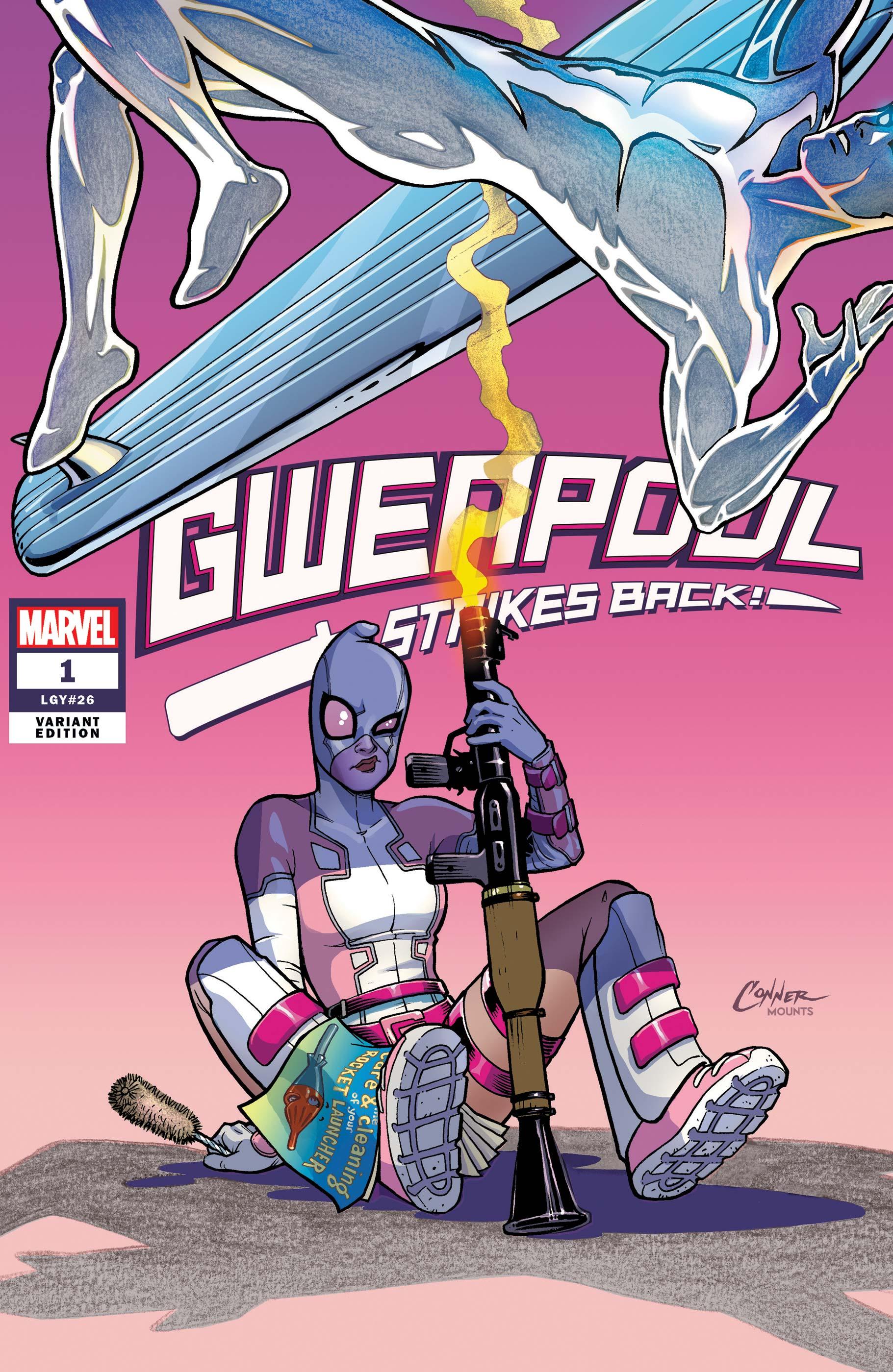 Gwenpool Strikes Back (2019) #1 (Variant)