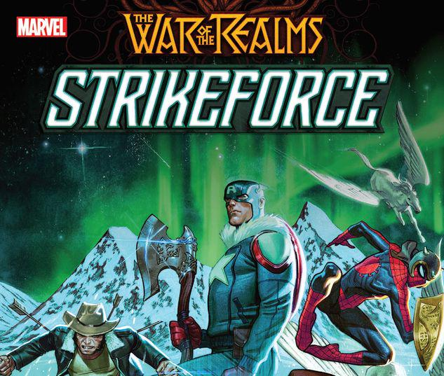 WAR OF THE REALMS STRIKEFORCE TPB #1
