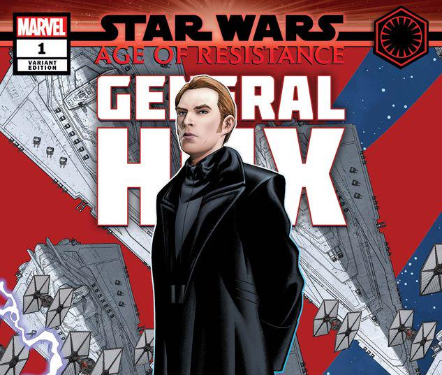 STAR WARS: AGE OF RESISTANCE - GENERAL HUX 1 MCKONE PUZZLE PIECE VARIANT #1