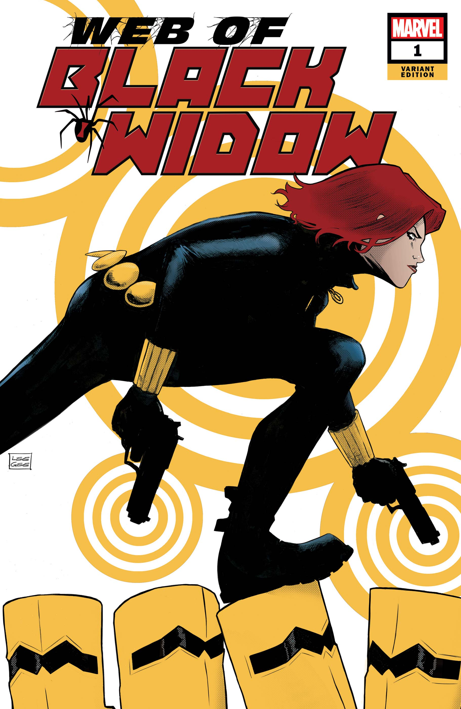 The Web of Black Widow (2019) #1 (Variant)
