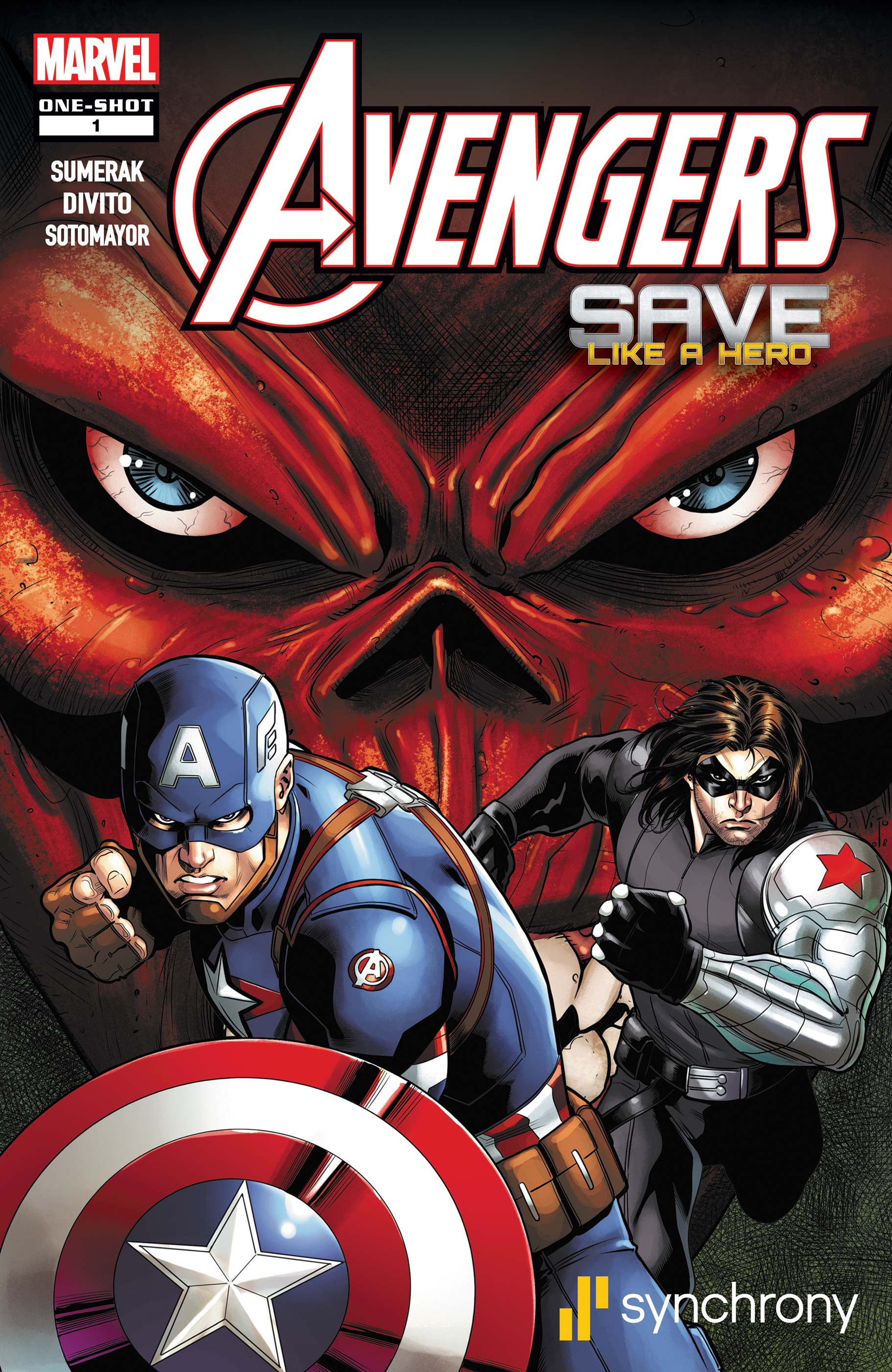 MARVEL AND SYNCHRONY PRESENT CAPTAIN AMERICA & WINTER SOLDIER: WAR BONDS (2019)