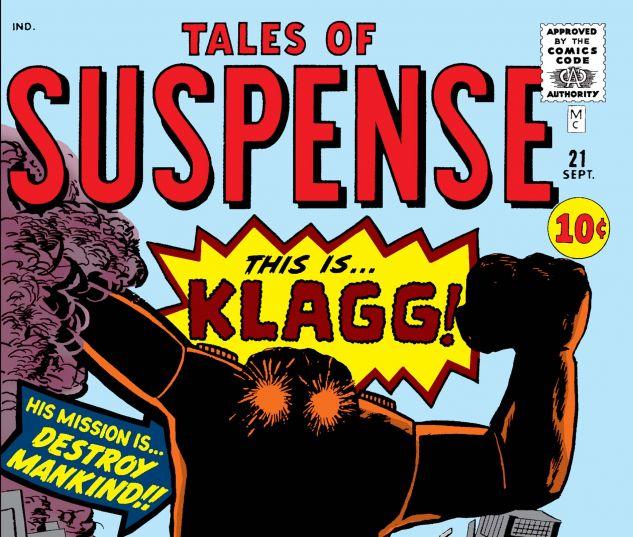 TALES OF SUSPENSE (1959) #21
