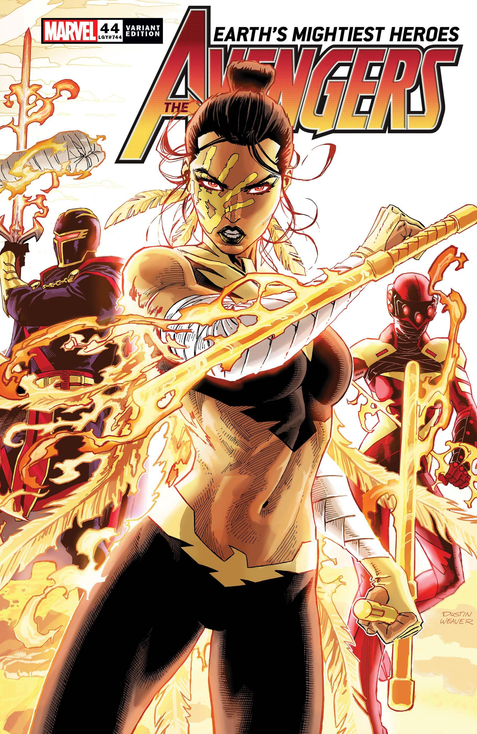 Avengers (2018) #44 (Variant)