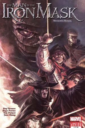 Marvel Illustrated: The Man in the Iron Mask #1