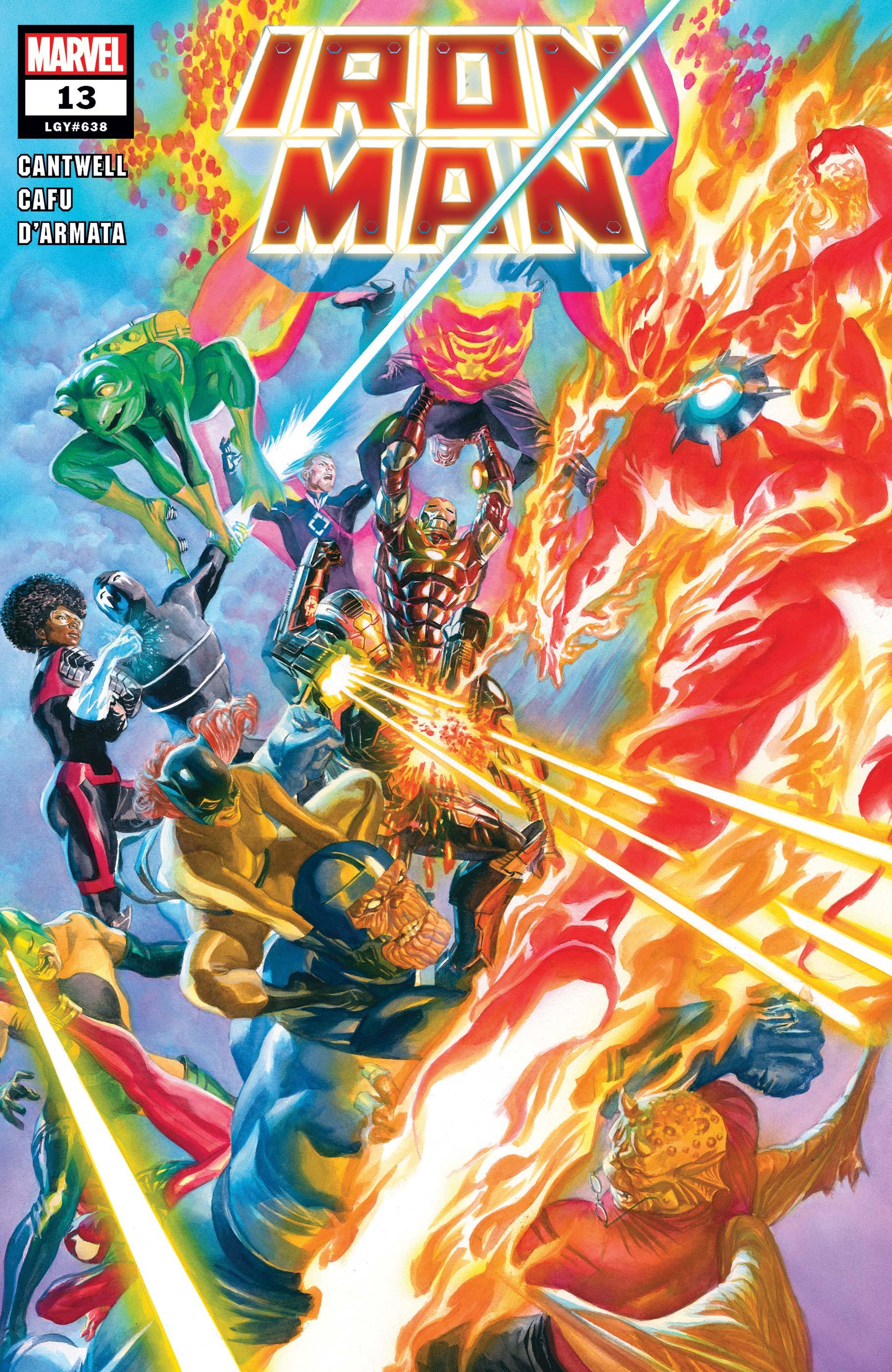 Iron Man (2020) #13