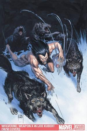 Wolverine Weapon X (2009) #6 (JOE KUBERT (50/50 COVER))