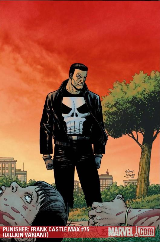 Punisher: Frank Castle Max (2009) #75 (DILLION VARIANT)