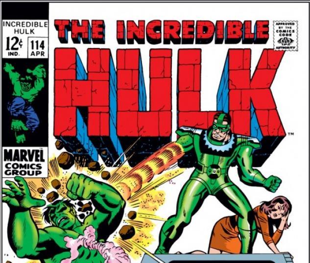 INCREDIBLE HULK (2009) #114 COVER