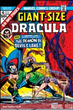 Giant-Size Dracula (1974) #4 cover
