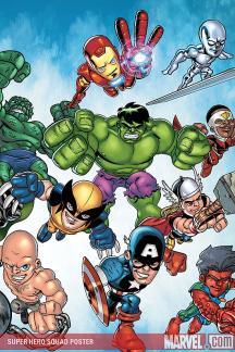 Super Hero Squad Poster (2009) #1