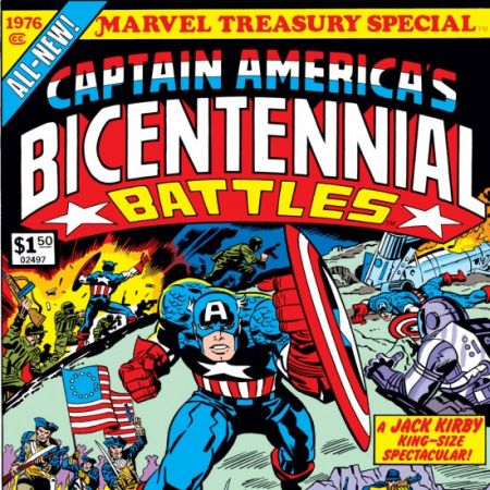 Marvel Treasury Special Featuring Captain America's Bicentennial Battles #1