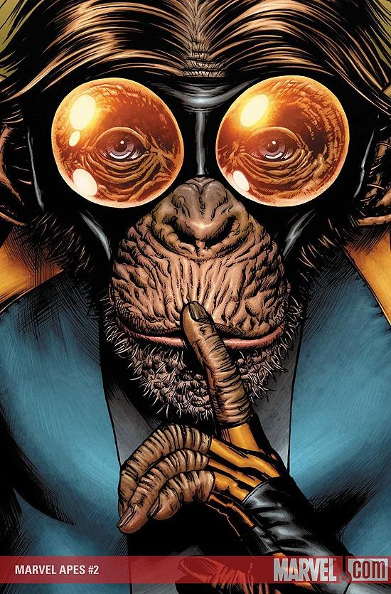 Marvel Apes (2008) #2