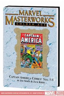 MARVEL MASTERWORKS: GOLDEN AGE CAPTAIN AMERICA VOL. 2 HC (Hardcover)
