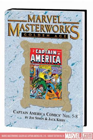 MARVEL MASTERWORKS: GOLDEN AGE CAPTAIN AMERICA VOL. 2 HC (Hardcover)
