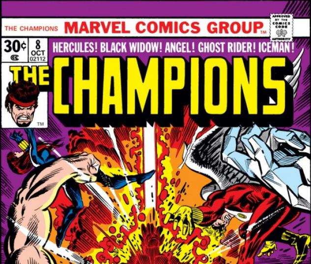 CHAMPIONS #8 COVER