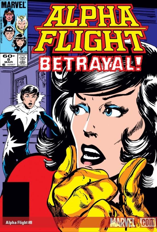 Alpha Flight (1983) #8