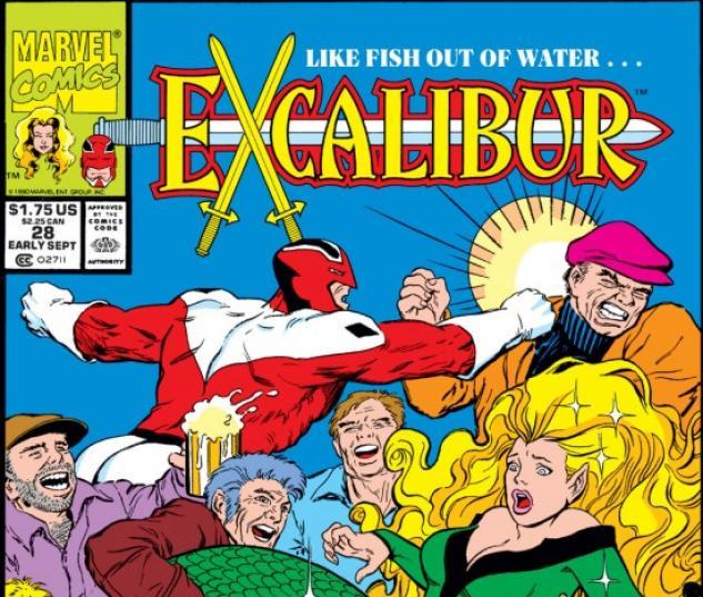 EXCALIBUR #28 COVER