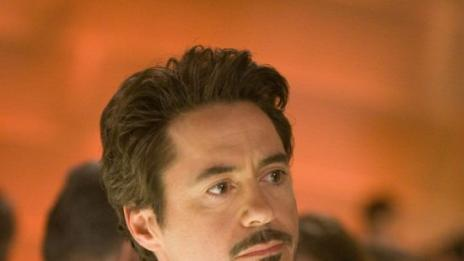Tony Stark, suave super hero
