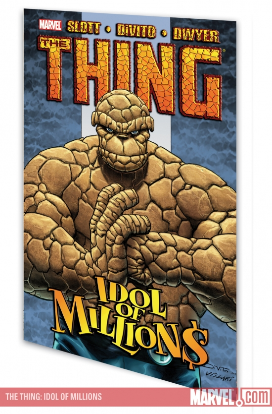 The Thing: Idol of Millions (Trade Paperback)