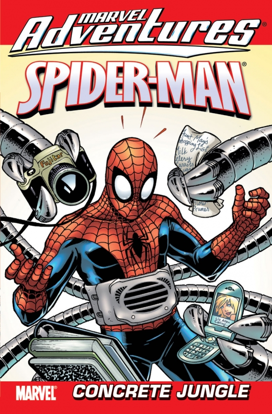 MARVEL ADVENTURES SPIDER-MAN VOL. 4: CONCRETE JUNGLE DIGEST (Digest)