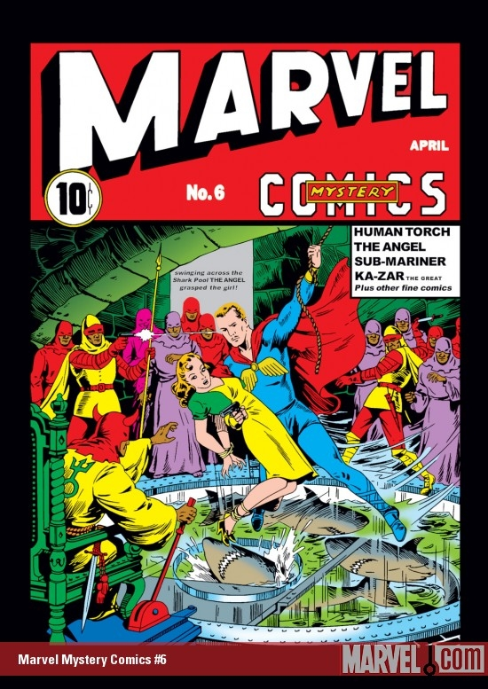 Marvel Mystery Comics (1939) #6