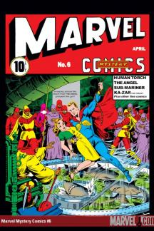 Marvel Mystery Comics #6