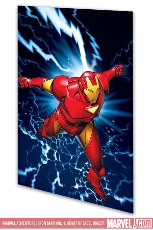 Marvel Adventures Iron Man Vol. 1: Heart of Steel (Digest)