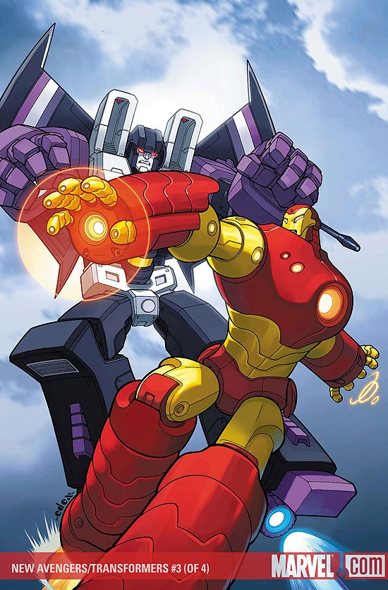 New Avengers/Transformers (2007) #3