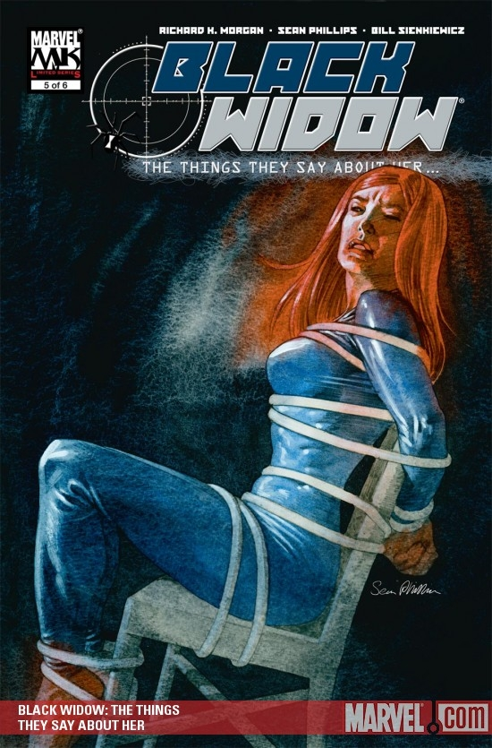 Black Widow: The Things They Say About Her (2005) #5