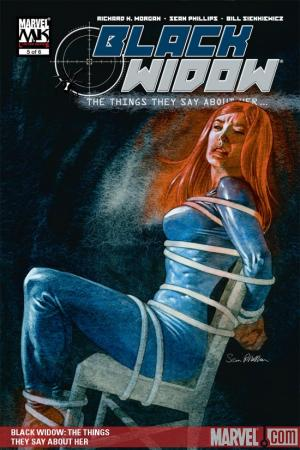Black Widow: The Things They Say About Her (Trade Paperback)