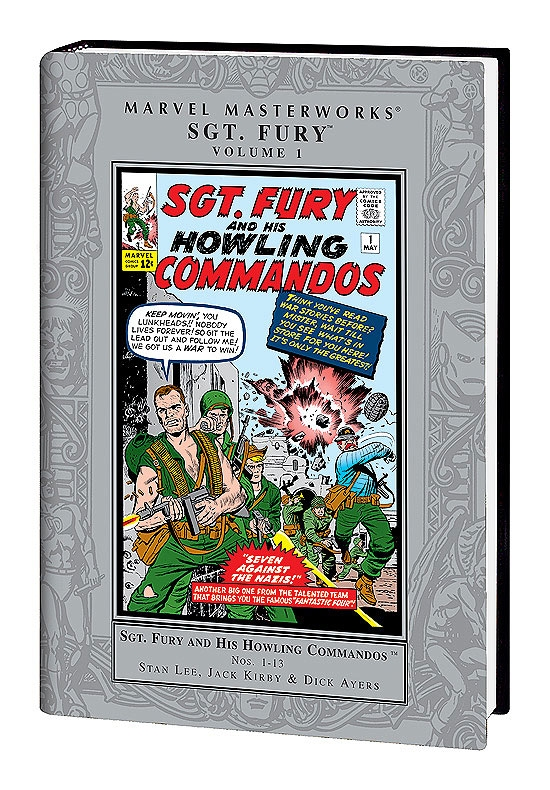 Marvel Masterworks: Sgt. Fury Vol. (Hardcover)