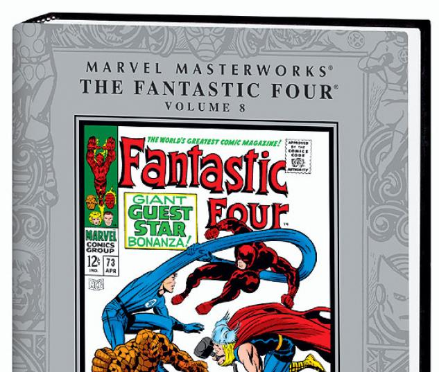 MARVEL MASTERWORKS: THE FANTASTIC FOUR VOL. 8 - VARIANT JACKET COVER