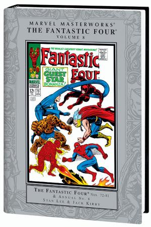Marvel Masterworks: The Fantastic Four Vol. 8 - Variant Jacket (Hardcover)