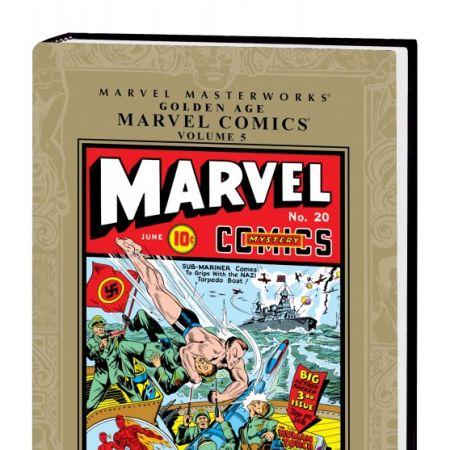 Marvel Masterworks: Golden Age Marvel Comics Vol. 5 (Hardcover)