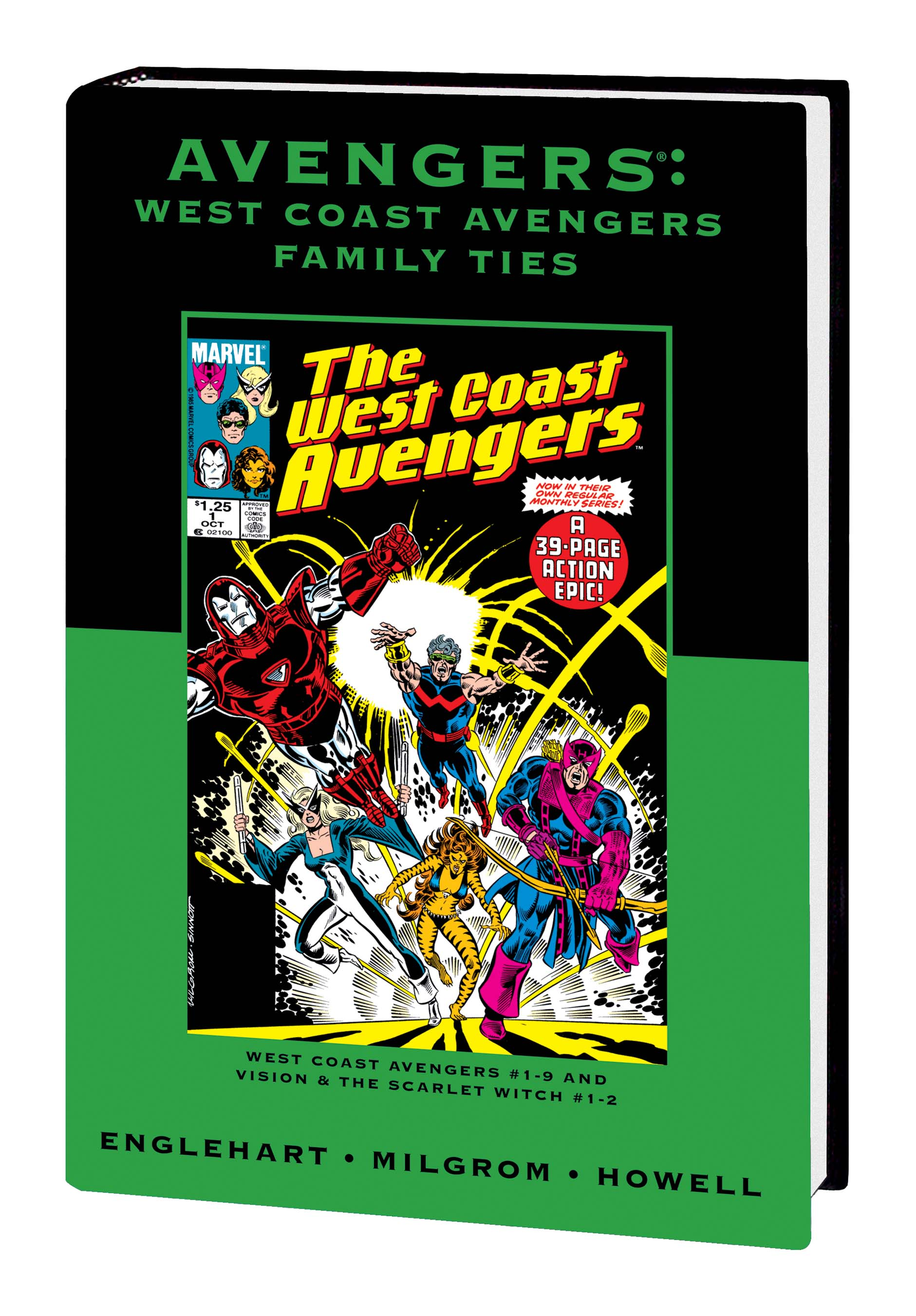 Avengers: West Coast Avengers - Family Ties (Hardcover)
