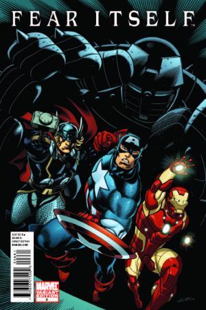 Fear Itself (2010) #6 (Avengers Three Variant)