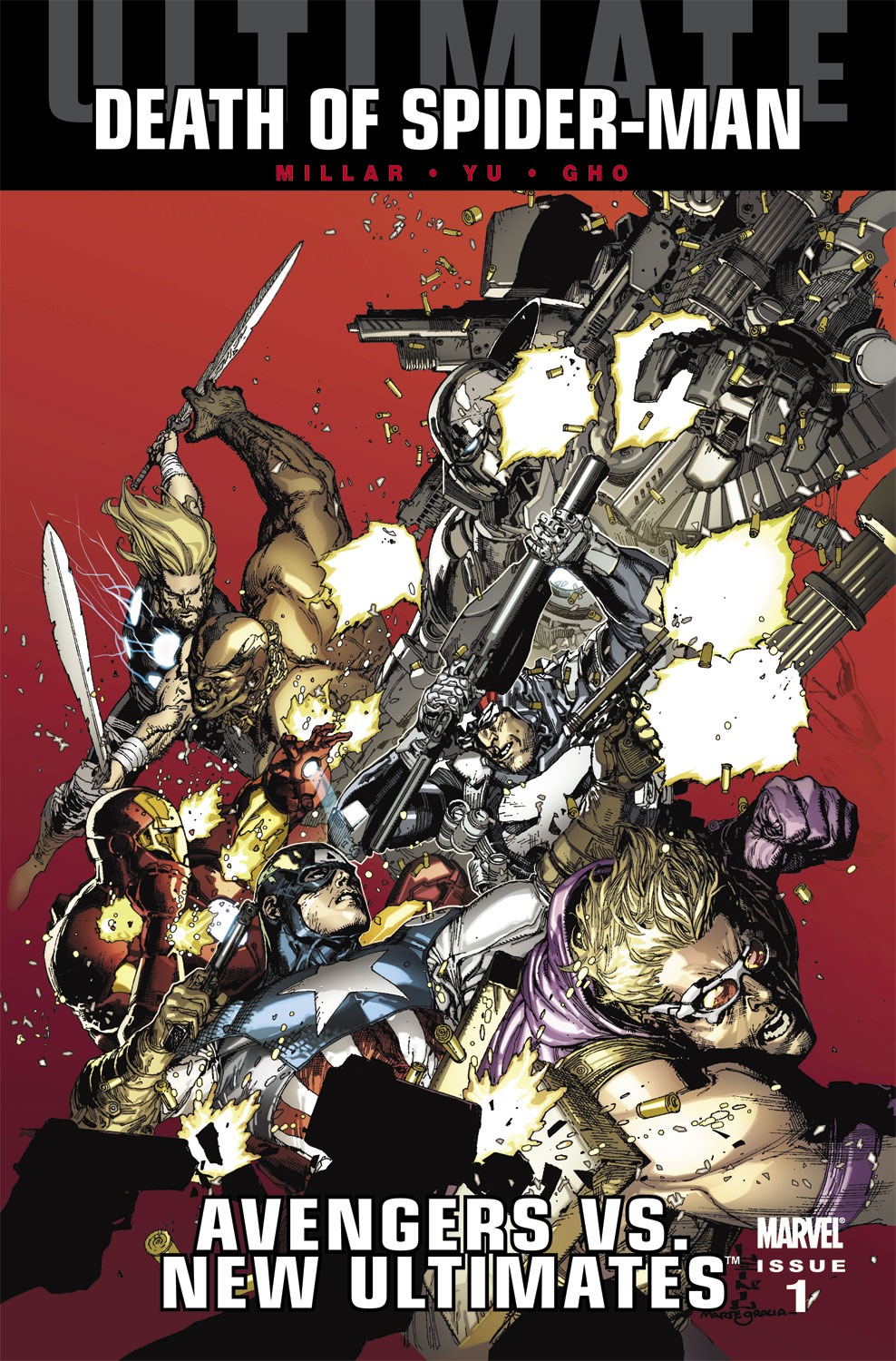 Ultimate Avengers Vs. New Ultimates (2011) #1