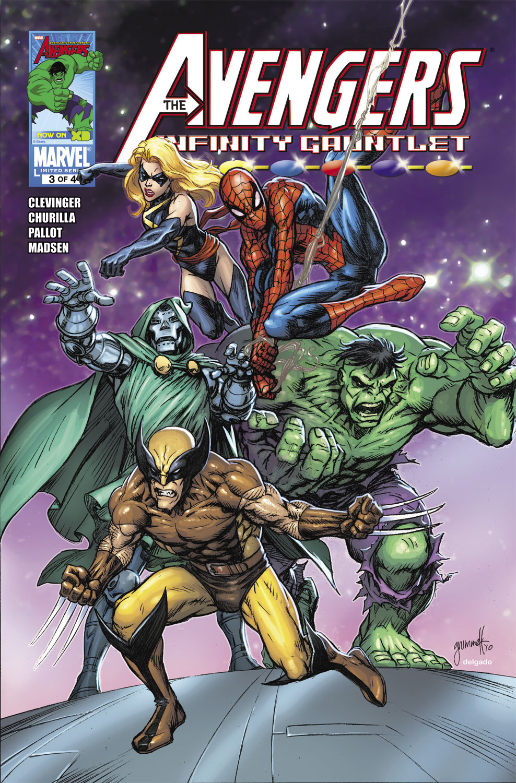 Avengers & the Infinity Gauntlet (2010) #3
