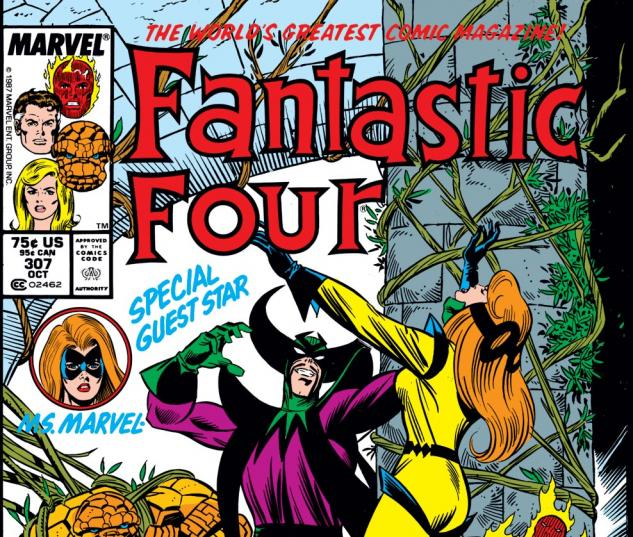Fantastic Four (1961) #307 Cover