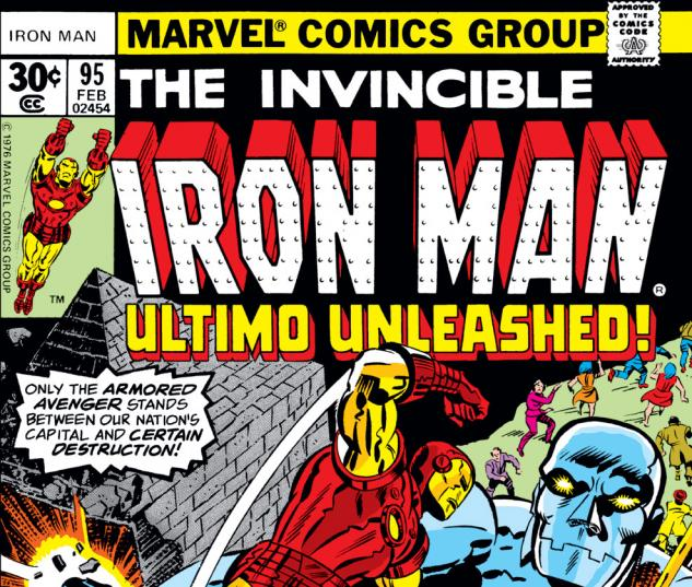 Iron Man (1968) #95 Cover